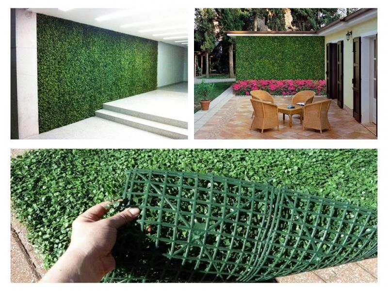 Follajes artificiales df 0445529649053 precio 660 Plantas para paredes verdes